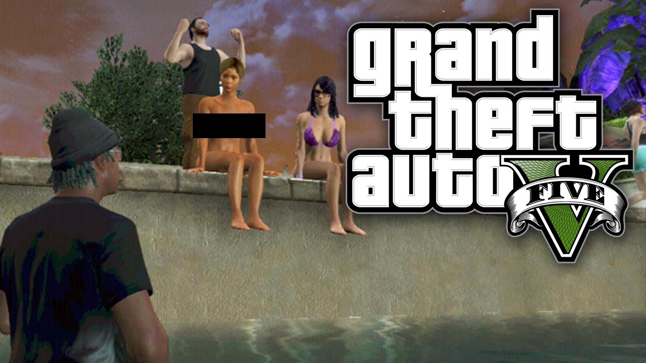 Grand theft auto naked