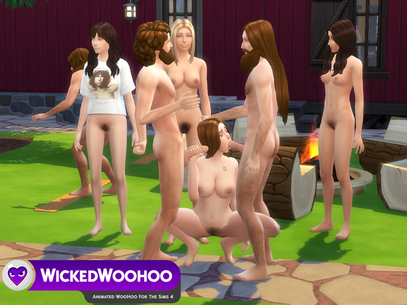 Sims nude