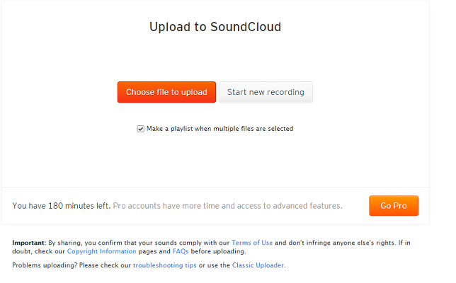 How to upload a song on soundcloud without copyright