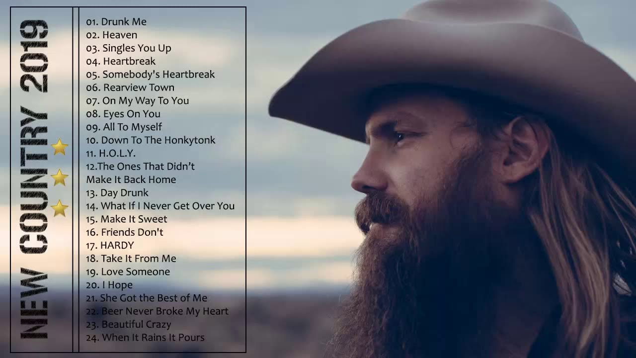 New country music songs