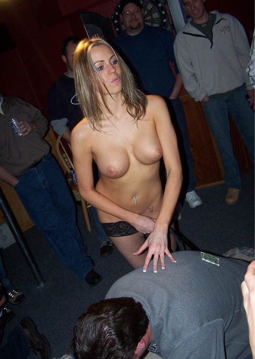 Nude porn at bachelor party