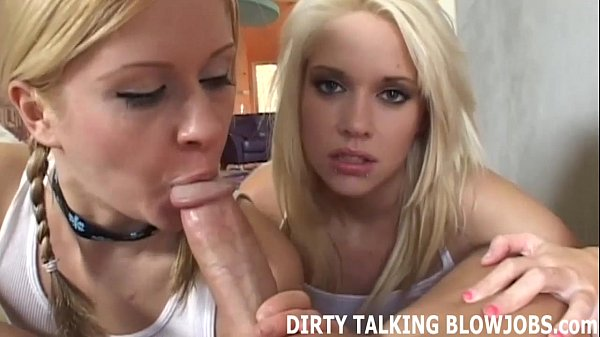 Talk while giving blowjob